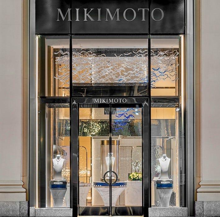 MIKIMOTO坐落於紐約市中心第五大道的旗艦店煥新開業!