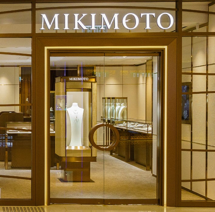 MIKIMOTO ifc Store is reopened